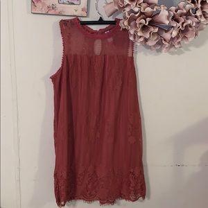 Cute lace/layered dress